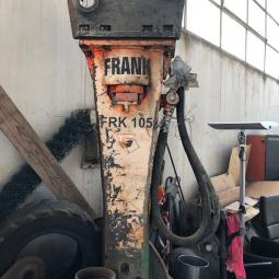 MARTELLO DEMOLITORE FRANK CO.FRK105